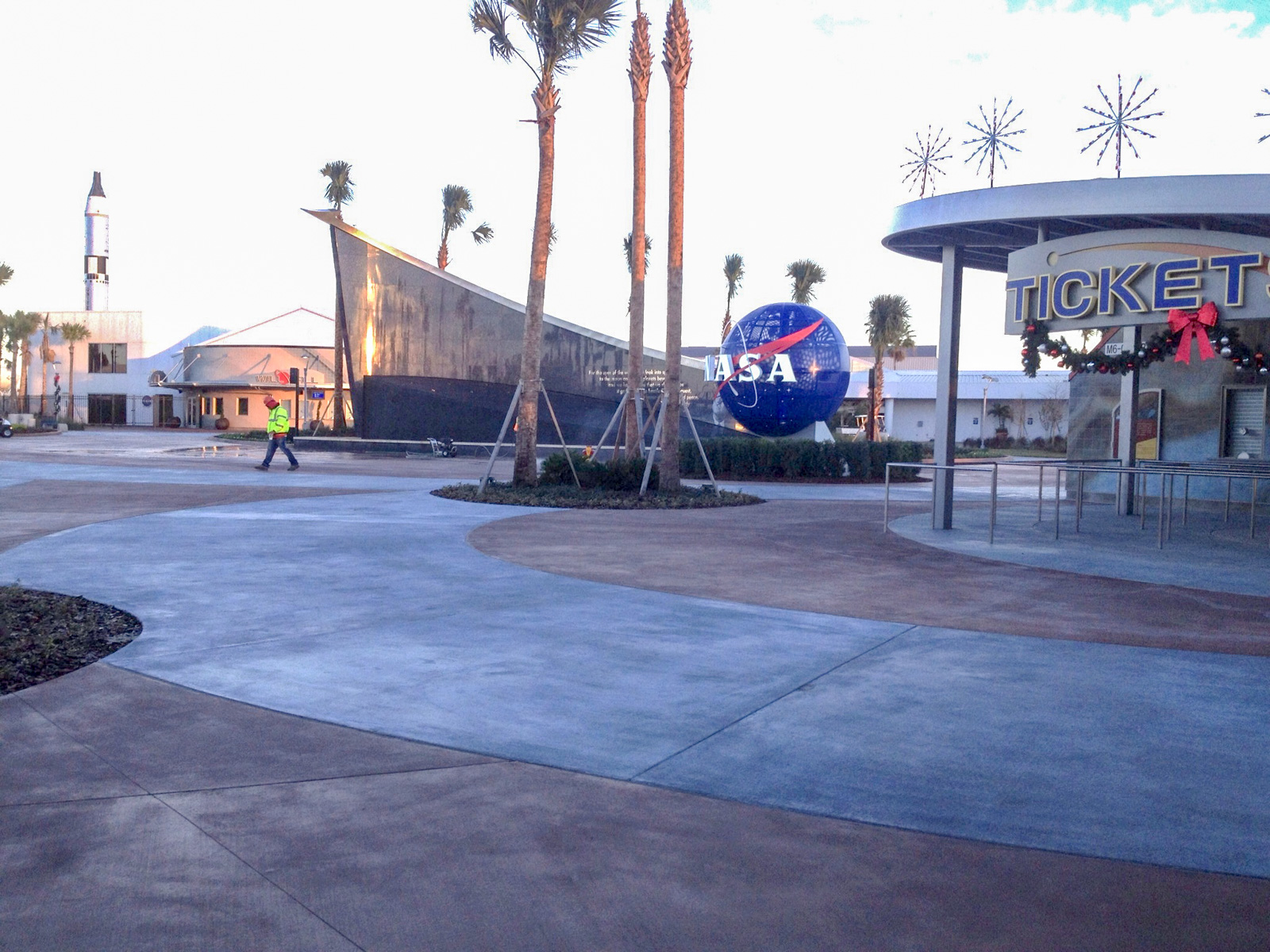 KSC Visitor Complex Ticket Entry
